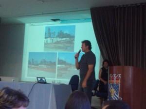 Prof. Guido Lemos apresenta o novo Centro de Informática para a comunidade UFPB